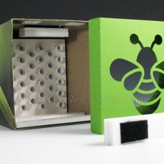 A home for fascinating mason bees by Paper Zen