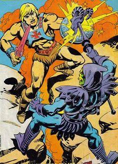 He-Man vs. Skeletor