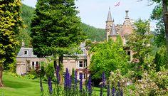 Tillypronie house gardens decoration