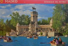 Retiro Park, Madrid, Spain #postcrossing