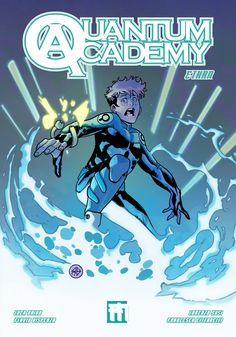 """Quantum Academy: Ethan"" by L. Baino, L. Vol 2, My Books, Geek Stuff, Comic Books, Queen, Comics, Geek Things, Cartoons, Cartoons"
