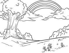coloriage colombe de la paix avec arc-en-ciel   ausmalbilder, ausmalen und malvorlagen