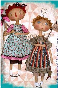 primitive doll pattern