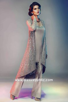 """""""Our new luxury pret collection is in stores now! Our shoot for this collection will be published in this week. Pakistani Wedding Outfits, Pakistani Dresses, Indian Dresses, Indian Outfits, Pakistani Couture, Pakistani Dress Design, Indian Bridal Fashion, Asian Fashion, Desi Clothes"""