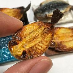 干物 #ミニチュア#ミニチュアフード #miniature #miniaturefood