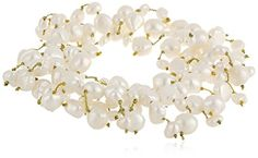 "White Freshwater Cultured Pearl Stretch Bracelet, 7"" Amazon Curated Collection http://www.amazon.com/dp/B00172I73M/ref=cm_sw_r_pi_dp_.tQOub05F0KSA"