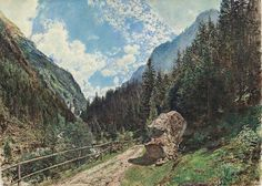 Rudolf von Alt Das Anlauftal bei Gastein - The Largest Art reproductions Center In Our website. Low Wholesale Prices Great Pricing Quality Hand paintings for saleRudolf von Alt Rudolf Von Alt, Salzburg, Unique Words, Advertising Poster, Large Art, Art Reproductions, Find Art, Framed Artwork, History