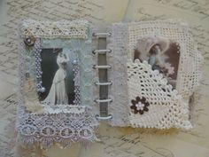 Vintage Memories a one of a kind Lace mixed by ScrapySisters