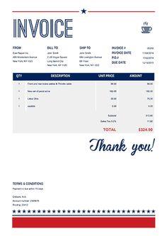 Invoice Design Templates  Invoice Template Designs Download