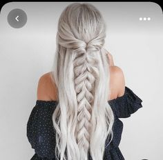 Braided Ponytail Hairstyles, Easy Hairstyles, Wedding Hairstyles, Hairstyle Ideas, Beehive Hairstyle, Lob Hairstyle, Barbie Hairstyle, Fashion Hairstyles, Hairstyles With Hair Extensions