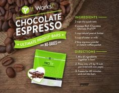 Easy, Healthy Chocolate Espresso Bar Recipe