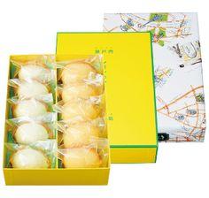 [グーテ・ド・アナトール] 瀬戸内生口島レモンのマドレーヌとレモンティーマドレーヌのセット|グルメ・ギフトをお取り寄せ【婦人画報のおかいもの】