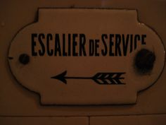 Even the signs are museum worthy in Musee Nissim de Camondo in Paris #FriFotos