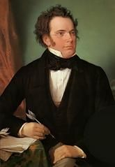 """Franz Peter Schubert 1797 – 1828 was an Austrian composer who is foremost admired for his many """"Lieder"""". The cycles Winterreise and Die schone Mullerin are absolutely unsurpassed! Violin Sheet Music, Piano Music, Art Music, Kids Music, Nana Mouskouri, E Flat Major, Classical Music Composers, Classical Period, Free Sheet Music"""