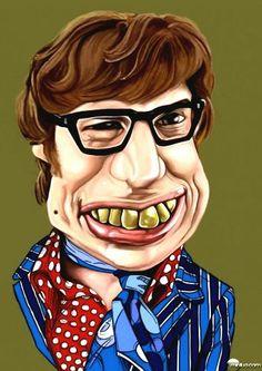 Austin Powers Caricature