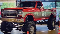 With designs that we see over time, nostalgia can really set it and get the best of us. Sure, there is something to be loved about new and cutting edge. 80s Chevy Truck, Big Ford Trucks, Custom Pickup Trucks, Classic Ford Trucks, Old Pickup Trucks, Lifted Ford Trucks, Diesel Trucks, Ford F250 Diesel, Truck And Tractor Pull