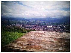 Oviedo desde la cima del monte Naranco
