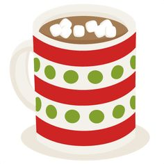 Hot Cocoa SVG cutting file for scrapbooking hot cocoa svg cuts cute christmas cut files for cricut free svgs Christmas Labels, Christmas Clipart, Christmas Printables, Winter Clipart, 2 Clipart, Cute Clipart, Kit Digital, Crafts To Make, Diy Crafts