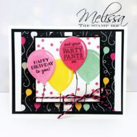 Stampin' UP! Party Pants Stamp Set by Melissa Stout Bday Cards, Kids Birthday Cards, Happy Birthday, Birthday Balloons, Stamping Up, Kids Cards, Cute Cards, Card Making, Paper Crafts