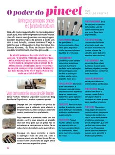 Minhas dicas na Revista Tendências de Beleza