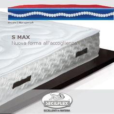 nuova versione Super Soft di Floa RE: S Max.  S Max saprà regalarvi il Max dell'accoglienza, il Max del comfort, il Max delle sensazioni piacevoli.  Floa RE nella versione S Max è un prodotto ESCLUSIVO Secilflex.  L'ECCELLENZA ha trovato la sua forma!