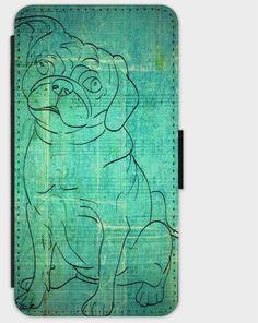 """Flip-Case """" M O P S """" von Zierrat auf DaWanda.com"""
