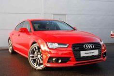 Misano Red Metallic Audi A7 Sportback