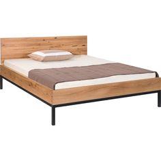 Bett Holz Werk Holz Wildeiche B 188 T 207 H 87 cm   LIVIQUE Bedroom Inspo, Furniture, Home Decor, Bed Frame, Bed Ideas, Engineered Wood, Oak Tree, Decoration Home, Room Decor
