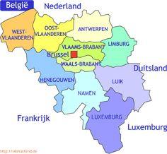 Provincies belgie en hoofdsteden - Recherche Google