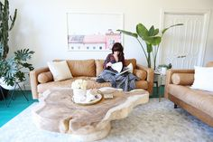 Elsie's Living Room Tour (Before + After)  - A Beautiful Mess