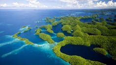 Free Islands Wallpaper - Islands of Palau, Micronesia