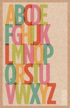alphabet color by leticia