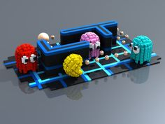 Lego Pacman.