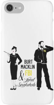 Burt Macklin FBI & Janet Snakehole iPhone 7 Cases