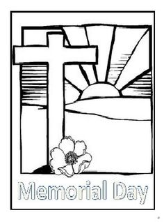 Memorial Day coloring pages for kindergarten, preschool, firstgrade. Enjoyable free printable Memorial day coloring pages ideas for kids. Colouring Pics, Coloring Pages To Print, Coloring Pages For Kids, Coloring Books, Coloring Sheets, Bible Study For Kids, Kids Bible, Memorial Day Coloring Pages, Remembrance Day Poppy