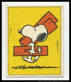 Snoopy carpenter---Its Donald :)