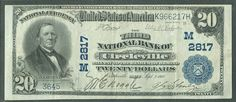 PICS CIRCLEVILLE OHIO   Circleville, OH, Charter 2817, Third NB 1902PB $20