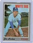 1970 TOPPS CHICAGO WHITE SOX JOE HORLIN BASEBALL CARD # 35