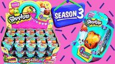 Shopkins Season 3 Baskets Surprise unboxing