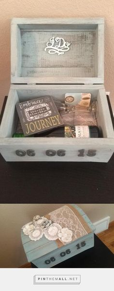 """DIY """"First Fight Box"""". Perfect wedding gift. - created via http://pinthemall.net"""