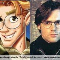 Milo Thatch from Disney's Atlantis Totally Looks Like Daniel Jackson from Stargate SG-1! YES