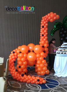 Our Balloon Sculptures are simply Amzing. Add a wow to your event with our custom Balloon Sculptures. Dinosaur Balloons, Giant Balloons, Custom Balloons, Dinosaur Birthday Party, 1st Birthday Parties, Ballon Decorations, Balloon Arrangements, Love Balloon, Balloon Animals