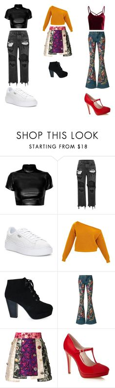 """Different styles"" by a1cca9land9cool ❤ liked on Polyvore featuring Alexander Wang, Puma, Alice + Olivia and Dolce&Gabbana"