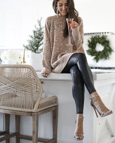 TWO HOLIDAY SWEATERS - Stylin By AylinStylin By Aylin | Interior Design | Fashion | Lifestyle