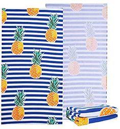 8456cf55de Amazon.com: NovForth Microfiber Beach Towel -Large Beach Blanket Towel  Ultra Soft Super