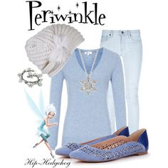 Periwinkle disney fairies outfit