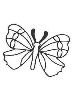 Un Joli Papillon Tr 232 S Facile 224 Colorier Passe Temps