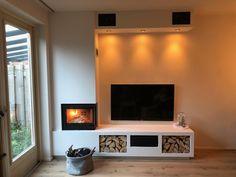 Wanders S60 hoek Decor, Interior Design Living Room, Living Room, Hoek, Nook, Bedroom, Interior Design, Room, Fireplace