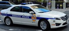 Honolulu Police 2011 Ford Fusion