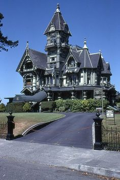 Victorian – Carson Mansion in Eureka CA